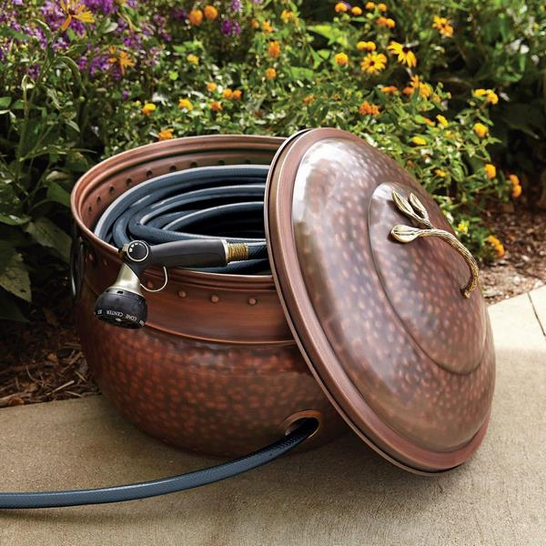 Garden hose storage solutions  take care for your outdoor