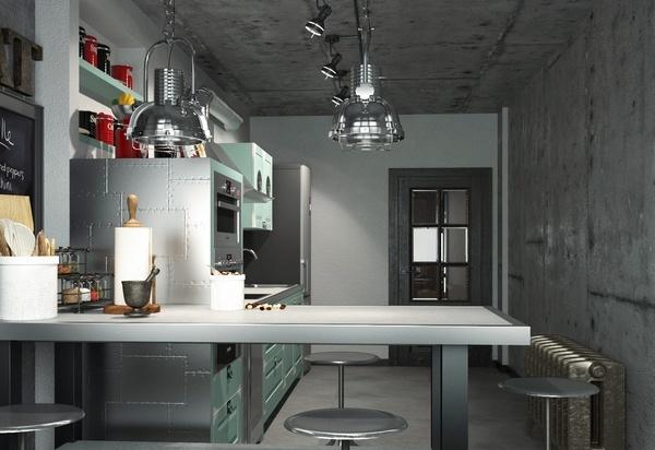 Striking Loft Kitchen Design Ideas That Reveal The Beauty