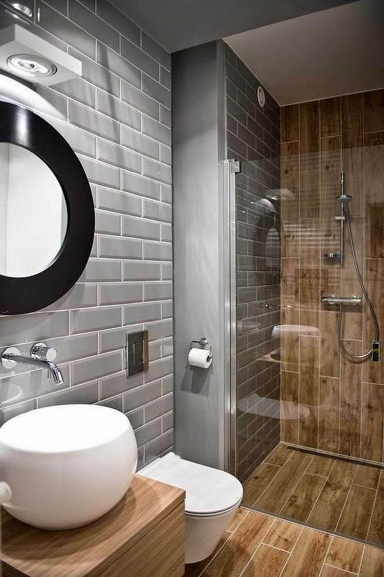 Walk In Shower In A Small Bathroom Design Ideas For Limited Space