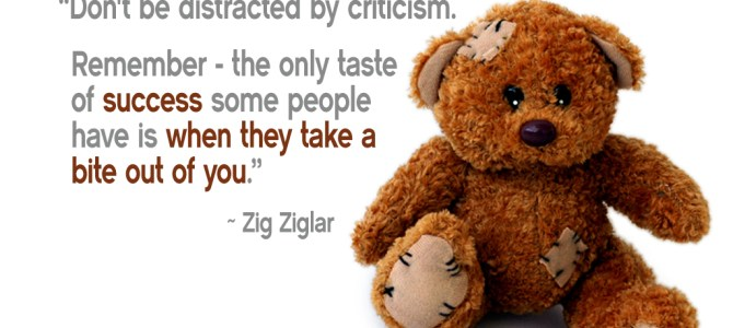 How to listen to criticism?