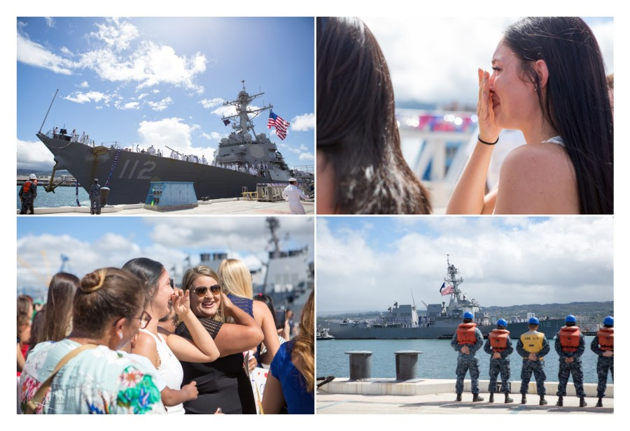 Navy military homecoming