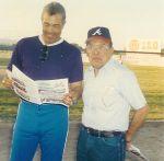 Arturo González con Ramón Ábrego