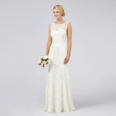 wedding dresses wedding dressing Debut Ivory lace Elaine wedding dress