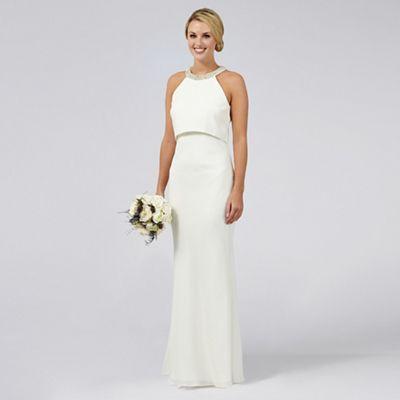 wedding dresses wedding dresses uk Ben De Lisi Occasion Ivory embellished Serena wedding dress