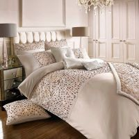 Kylie Minogue at home Rose gold 200 thread count 'Eva ...