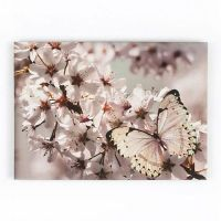 Graham & Brown Butterfly branch with glitter wall art ...