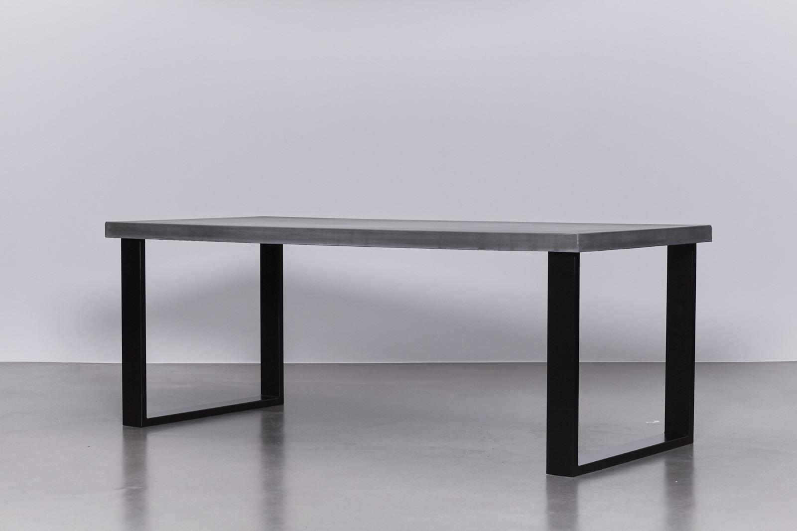 Metalen Onderstel Tafel : Eettafels laten maken interieur timmerwerken schomaker houten