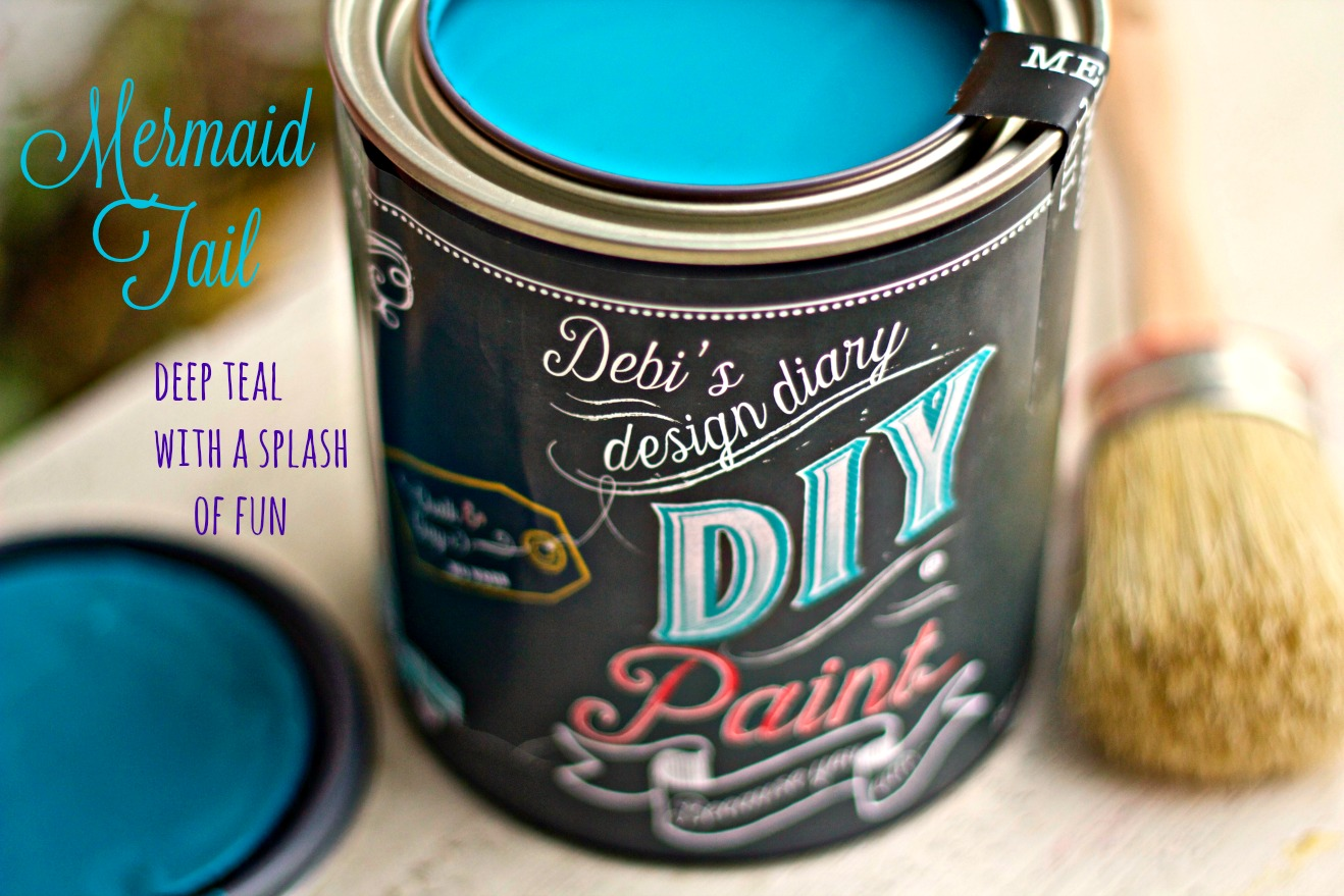 Mermaid Tail Diy Paint Debis Design Diary