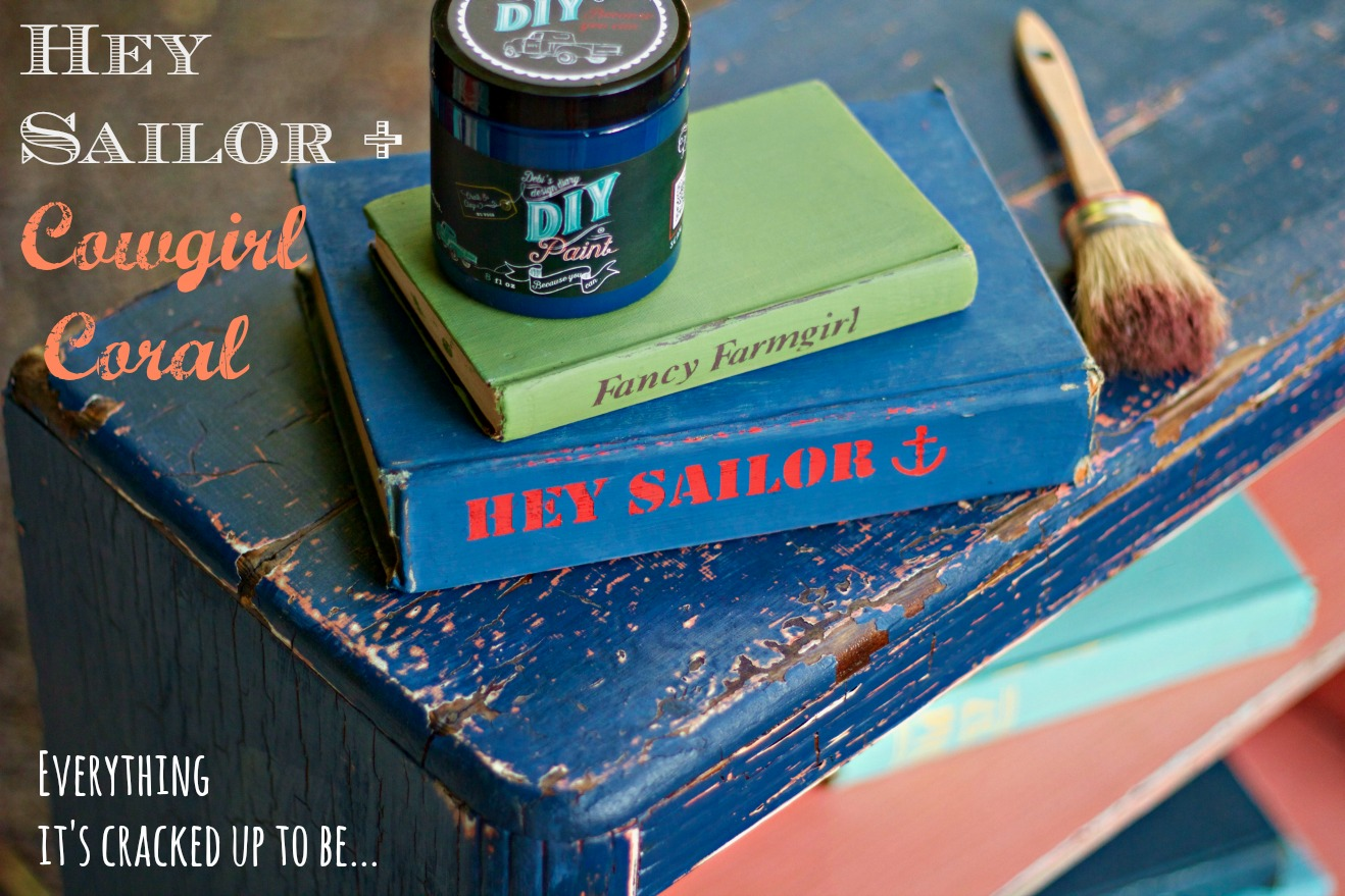 Hey Sailor Diy Paint Debis Design Diary