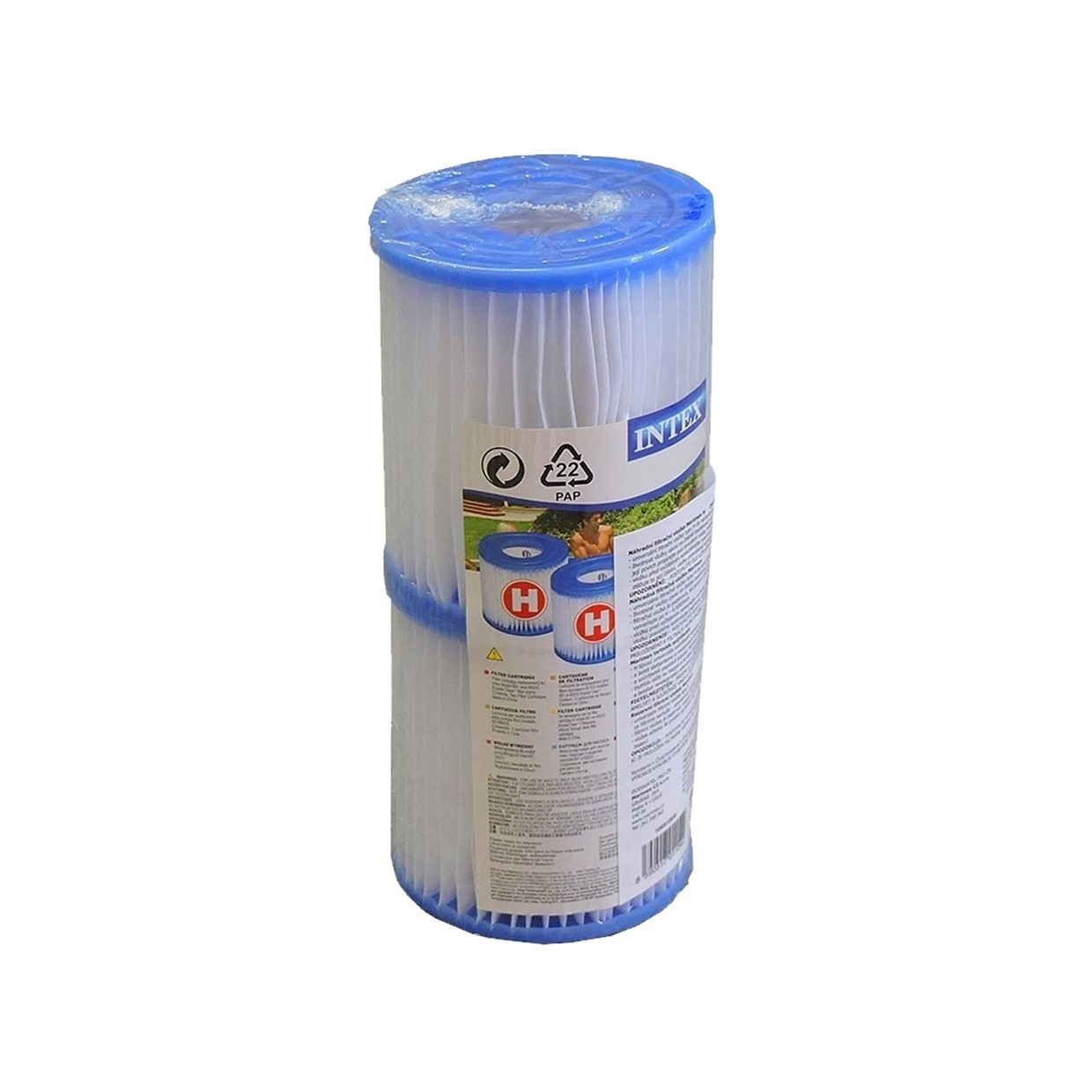 Filter Intex Zwembad Vervangen Intex Filter Cartridge Type H - 2 Stuks - De Boer Drachten