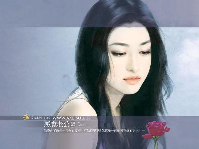 Beautiful Chinese Girl Painting Wallpaper هنر تاج سر آفرینش است نقاشی از دختران کره ای