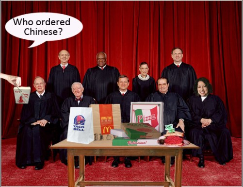 Supreme Court Lunch