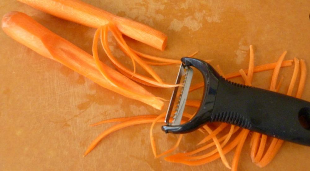 julienned carrots