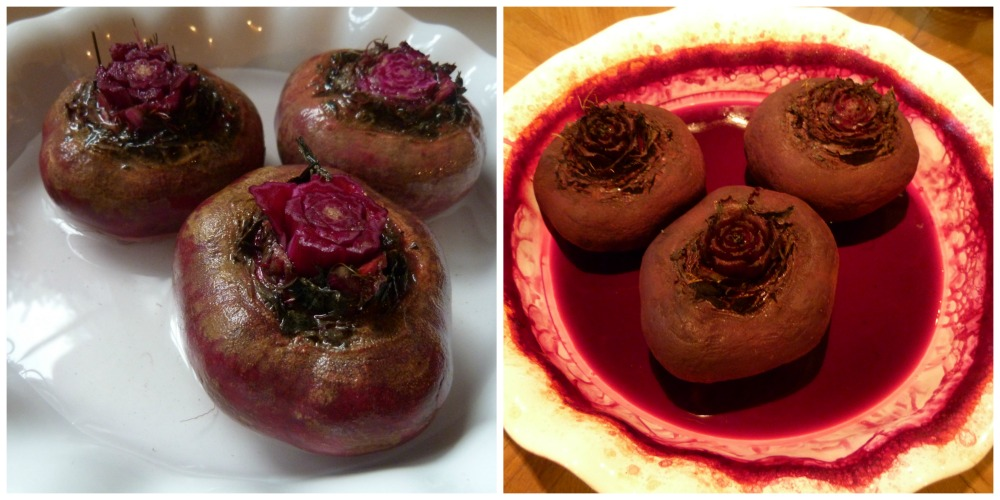 Roasted Beet Collage