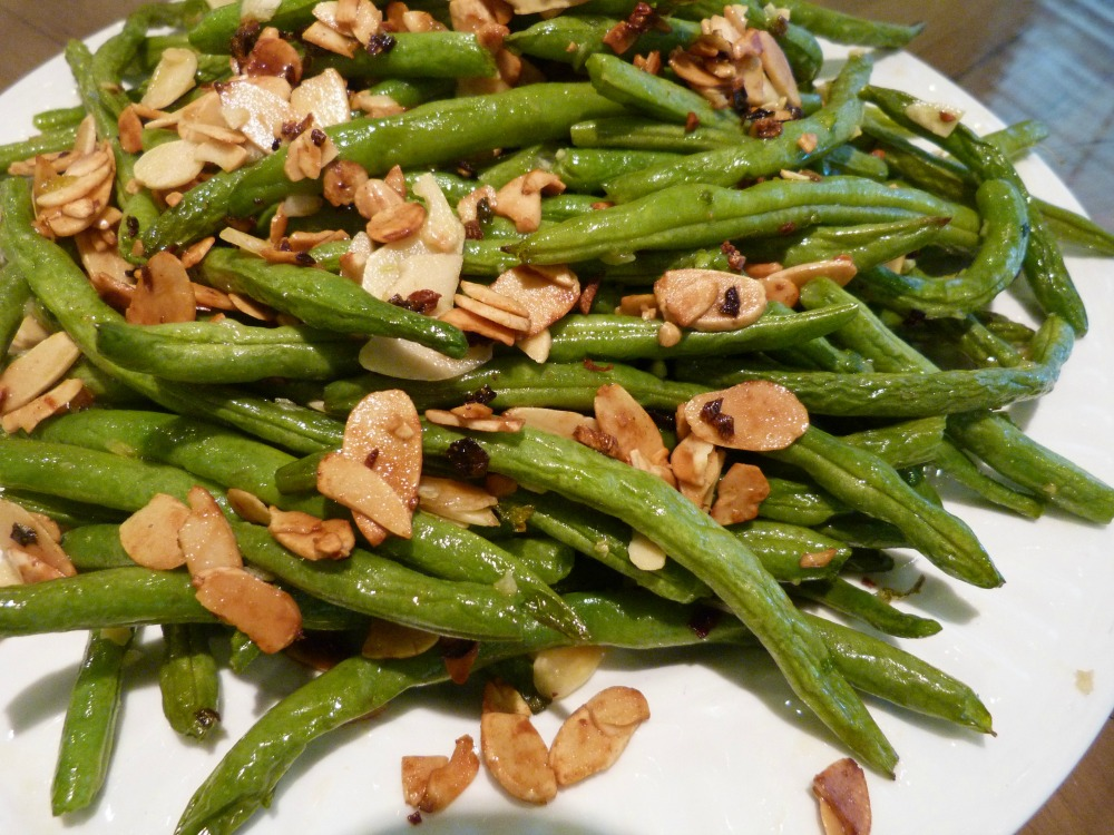 almandine green beans