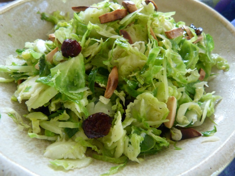 brussels slaw with nuts
