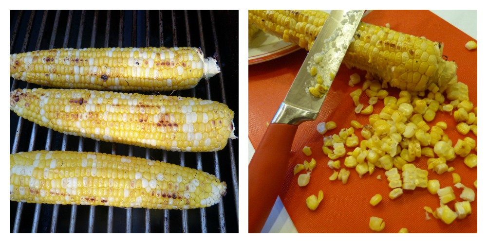 Grilled Corn Collage