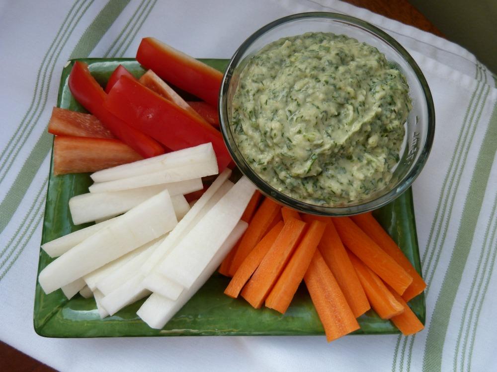 Cannellini Beans + Garlic + Herb Dip