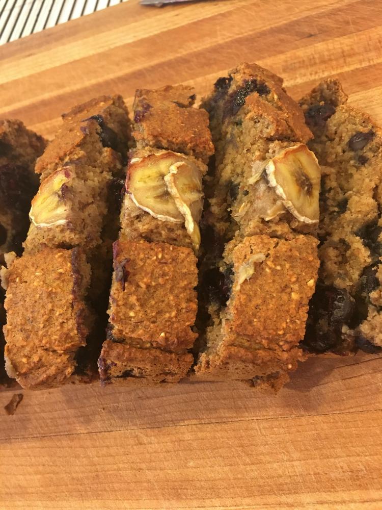 Gluten Free and Vegan adaptable Healthy Banana Bread Recipe