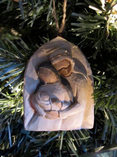 MaryJosephJesusOrnament