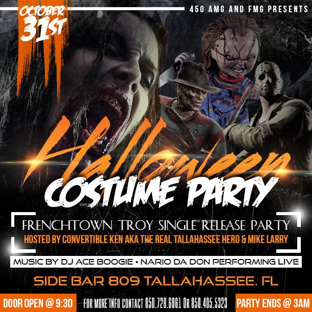 Halloween Flyer Template PSD - Debryne Graphics - halloween flyer template