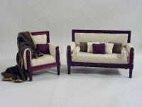 Garfield Dollhouse Living Room Furniture