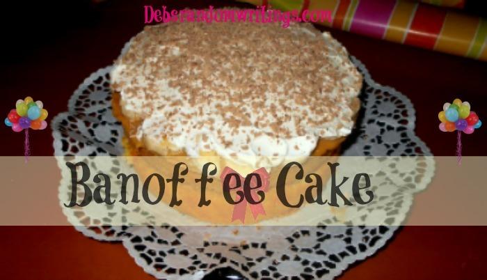 Banoffee Cake - My Emergency Birthday Cake Solution!