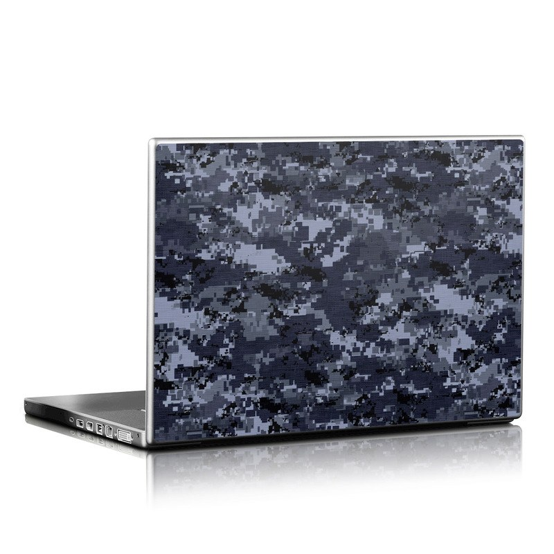 Gel Skin Laptop Skin - Digital Navy Camo By Camo | Decalgirl