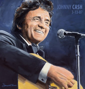 Johnny Cash 03.13.87