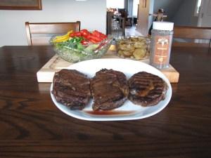 Dechant Spice perfect medium rare steak!
