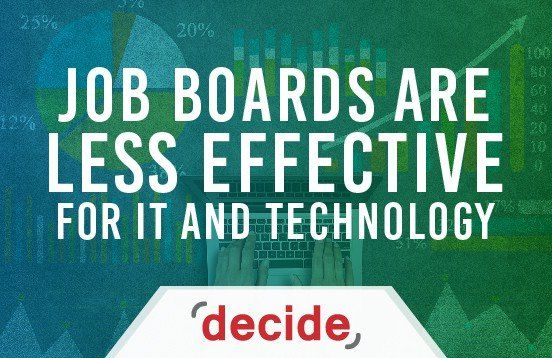 Job Boards Are Less Effective for IT and Technology Related Jobs