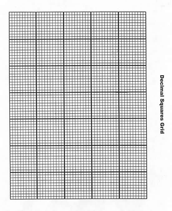 Decimal Squares Grid \u2013 Decimal Squares