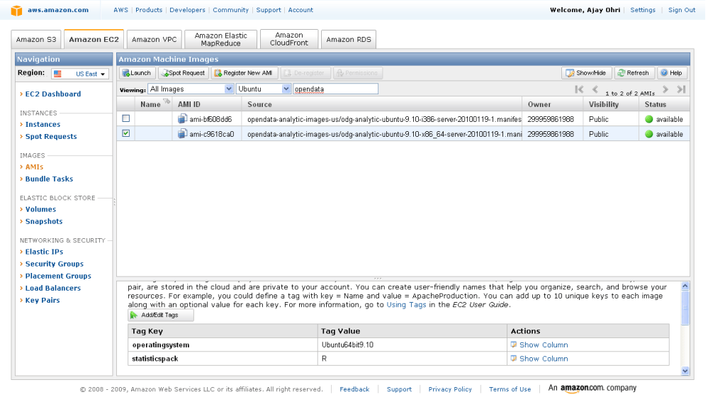Running R on Amazon EC2 (1/6)