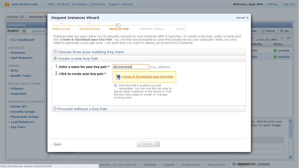 Running R on Amazon EC2 (5/6)