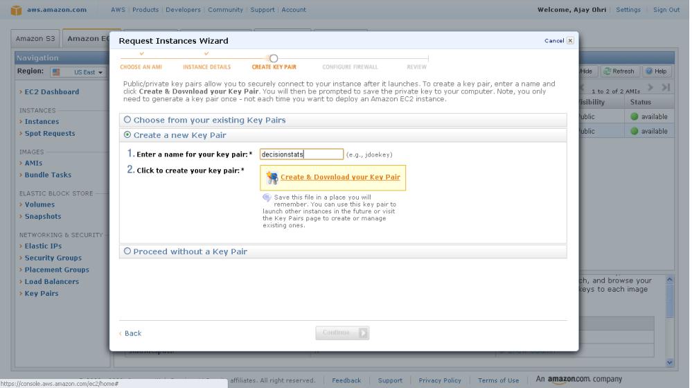 Running R on Amazon EC2 (5/6)