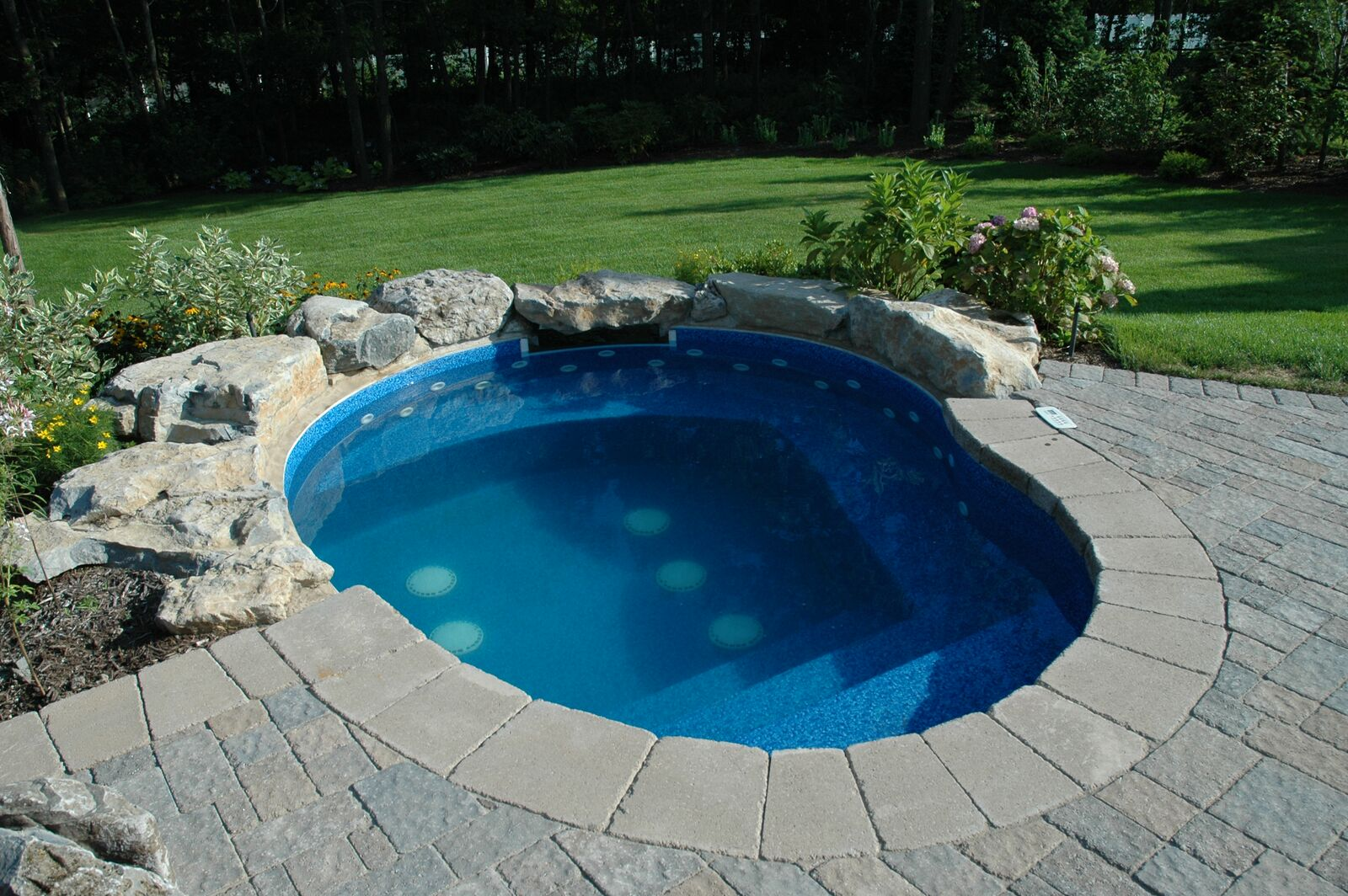 Jacuzzi Pool In Ground Swim Up Bars The Deck And Patio Company