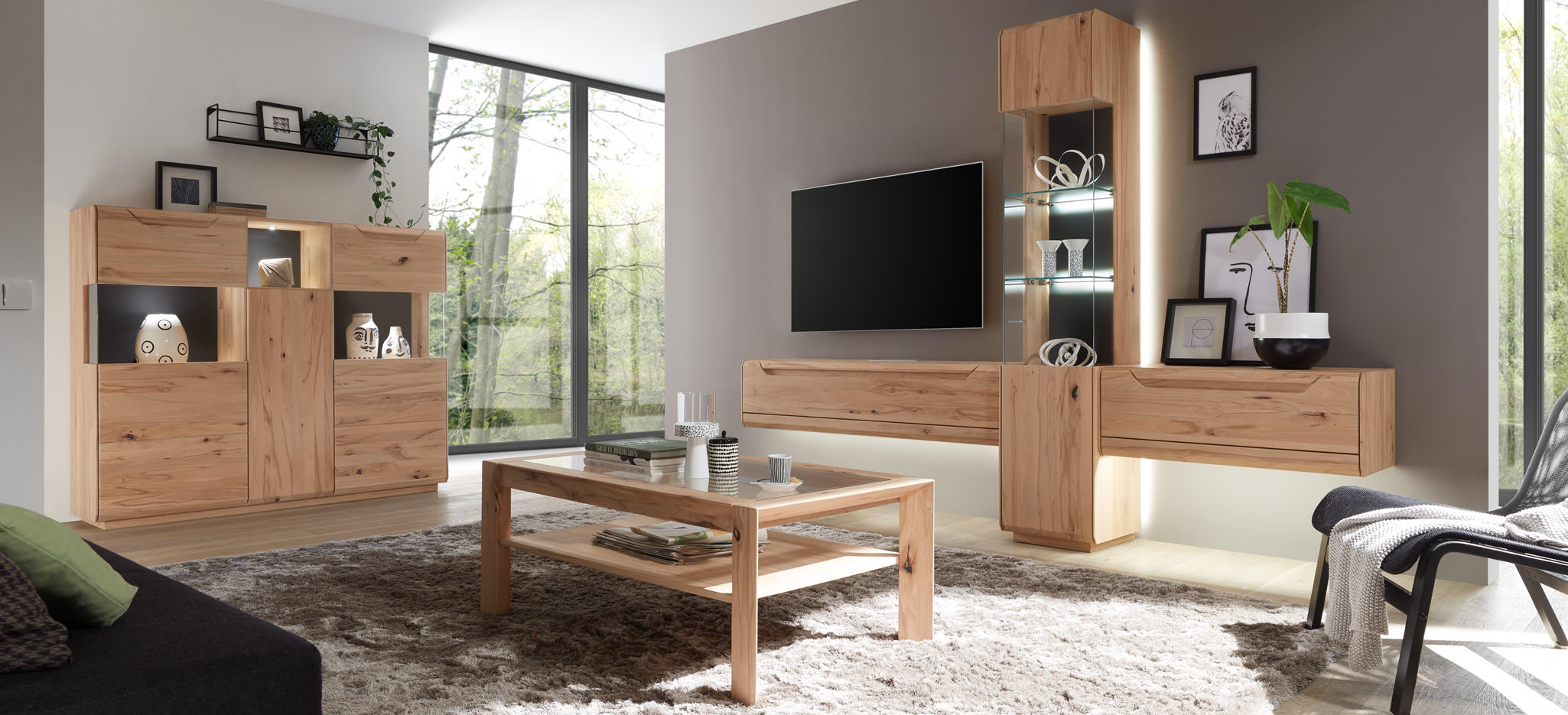 Wohnzimmer Möbel Massivholz Solid Wood Furniture Premium Collection Cavani From Decker