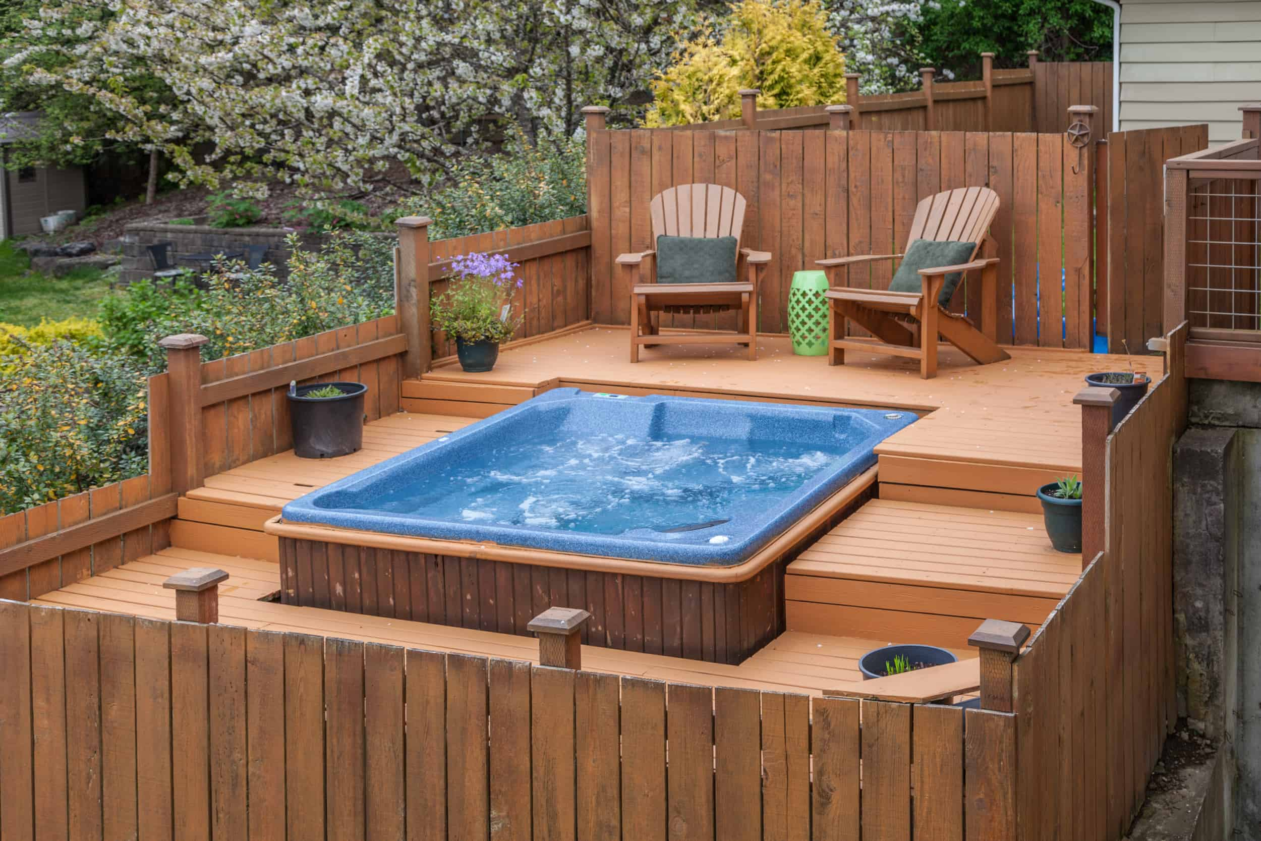 Can I Add A Hot Tub To My Deck Decks Docks Lumber Co
