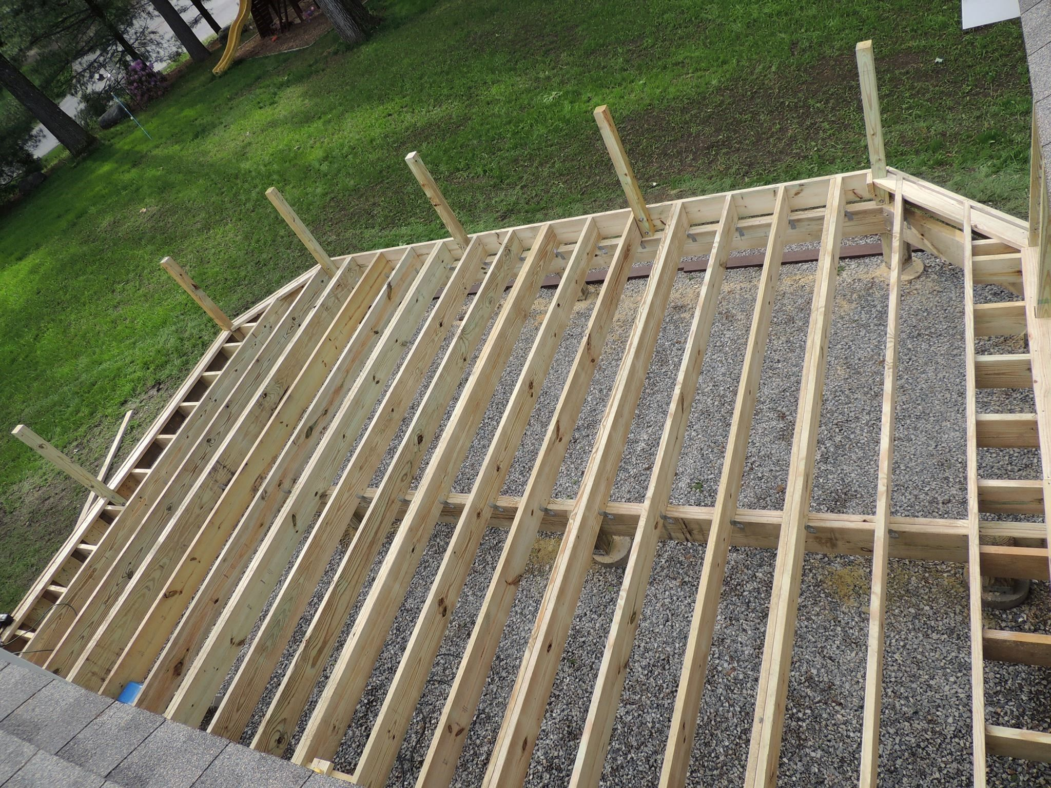 Synthetic Deck Boards How To Install Composite Decking Decks