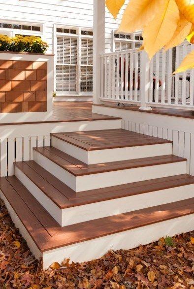 Building Box Steps And Stairs For Decks Deckscom