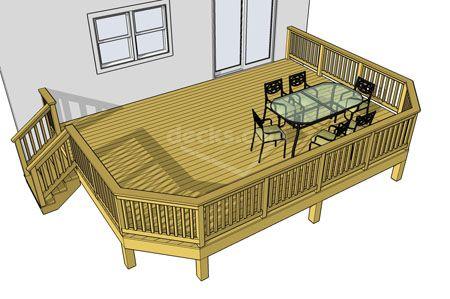 Premade Patio Decks Decks.com. Free Plans