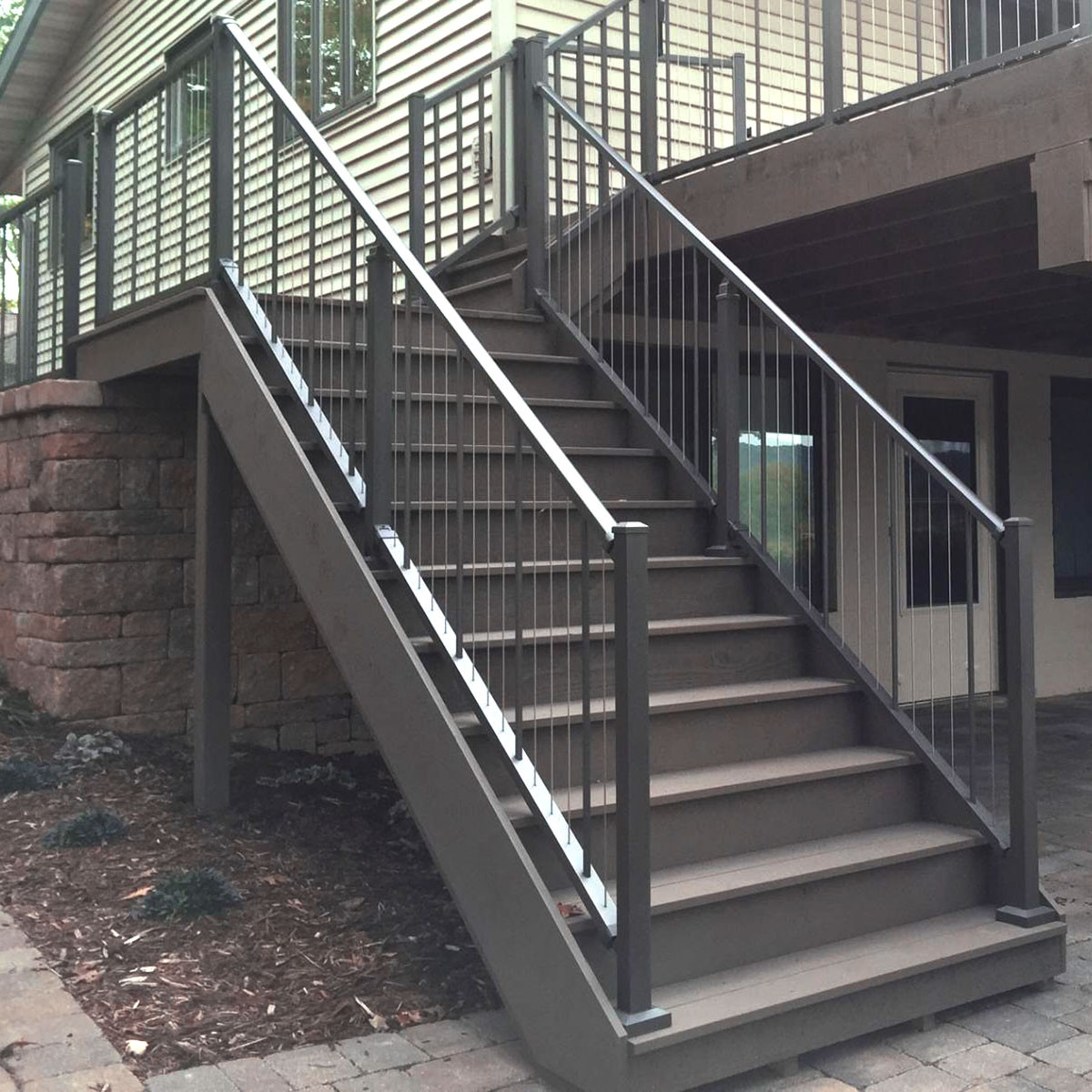 Aluminium Trapleuning Verticable Stair Rail Section Kits By Westbury Aluminum