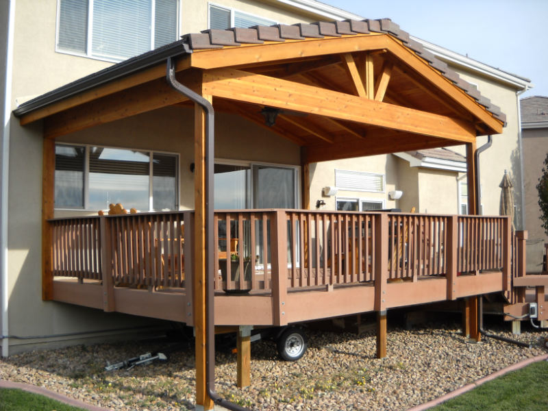 Furniture Refinishing Edmonton Roof Covers Protect Your Deck In The Winter - Decktec