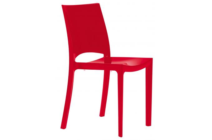 Chaise Design Rouge Chaise Design Rouge Arlequin - Chaise Design Pas Cher