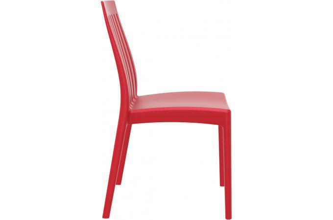 Chaise Design Rouge Chaise Design Rouge Samy - Chaise Design Pas Cher