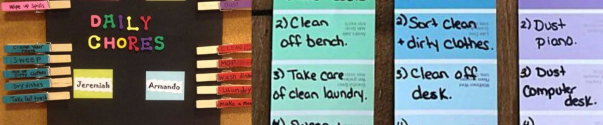59+ Chore Chart Ideas For Your Kids - DIY Chore Boards {NEW for - sample chore chart