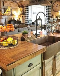 {Farmhouse Decor!} Clean, Crisp & Organized Farmhouse ...
