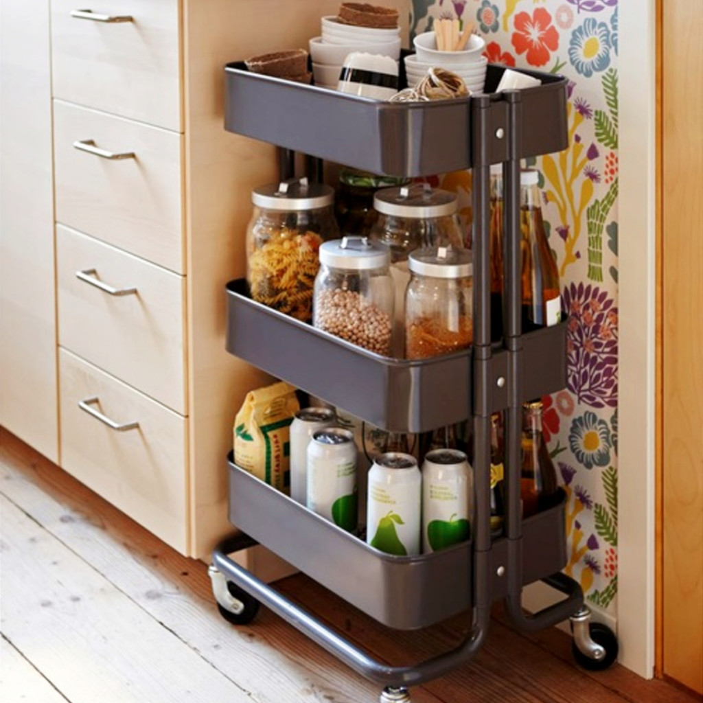 Kitchen Organizer Storage No Pantry How To Organize A Small Kitchen Without A Pantry