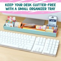 Desk Organization - Simple Tips & DIY Ideas For Your Home ...