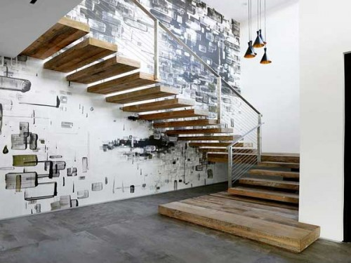 Decoration Montee Escalier Photos Mur-deco-street-art-pour-sublimer-la-cage-d'escalier